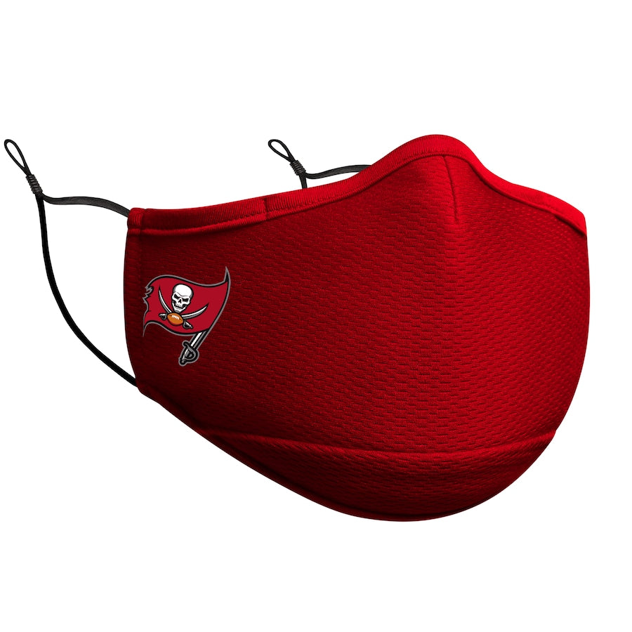 Adult New Era Tampa Bay Buccaneers Red On-Field Face Covering