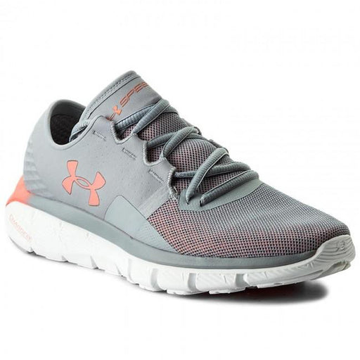UNDER ARMOUR Women's Speedform Fortis 2.1 - Grey | SpeedForm Construction | Textile/Rubber