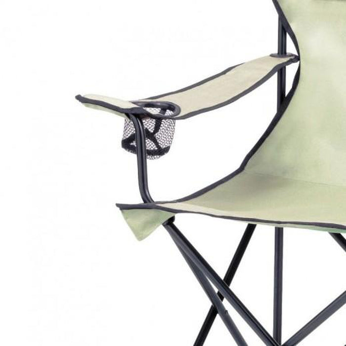 COLEMAN Standard Quad Chair - Khaki | 113Kg Weight Capacity | 600D Oxford Polyester