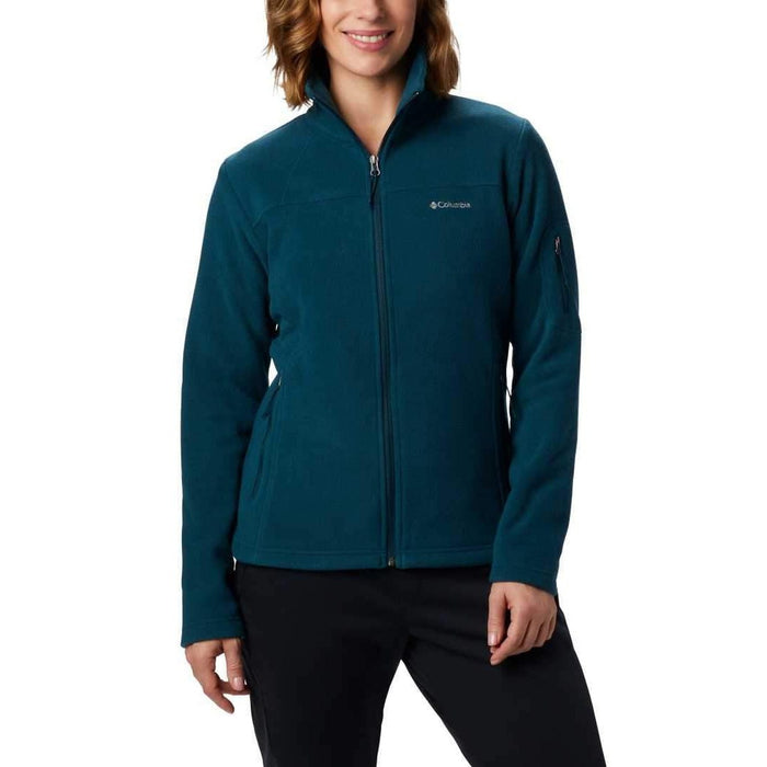 COLUMBIA Women's Fast Trek II Jacket | Drawcord Adjustable Hem | 100% Polyester 250g Microfleece