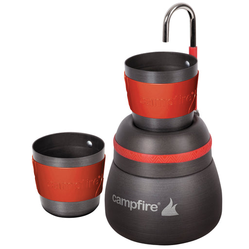 CAMPFIRE ANODIZED COFFEE PERCOLATOR