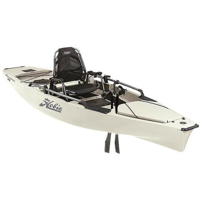 HOBIE Kayak Mirage Pro Angler - 2021 | Powered By The Revolutionary MirageDrive 180 with Kick-Up Fins + Arc Cranks | Rotomolded Polyethylene