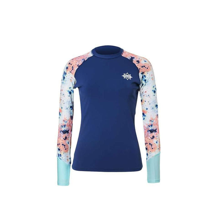 MALUNI Women's Tattoo -  Navy | Quick Dry And Chlorine Resistant | Nylon 82% Spandex 18%