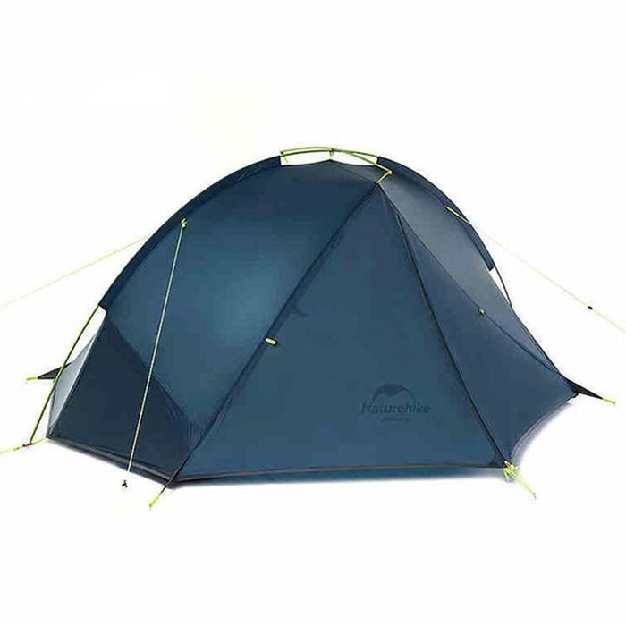 NATUREHIKE Tagar Two Man Tent - Blue | Waterproof and Windprooof | Silicone Coated