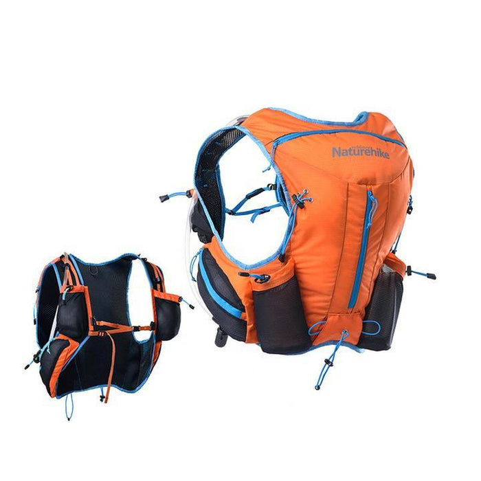 NATUREHIKE Cross-Country Running Backpack 12L | Good Load Adjustment | Anti Splash Fabric