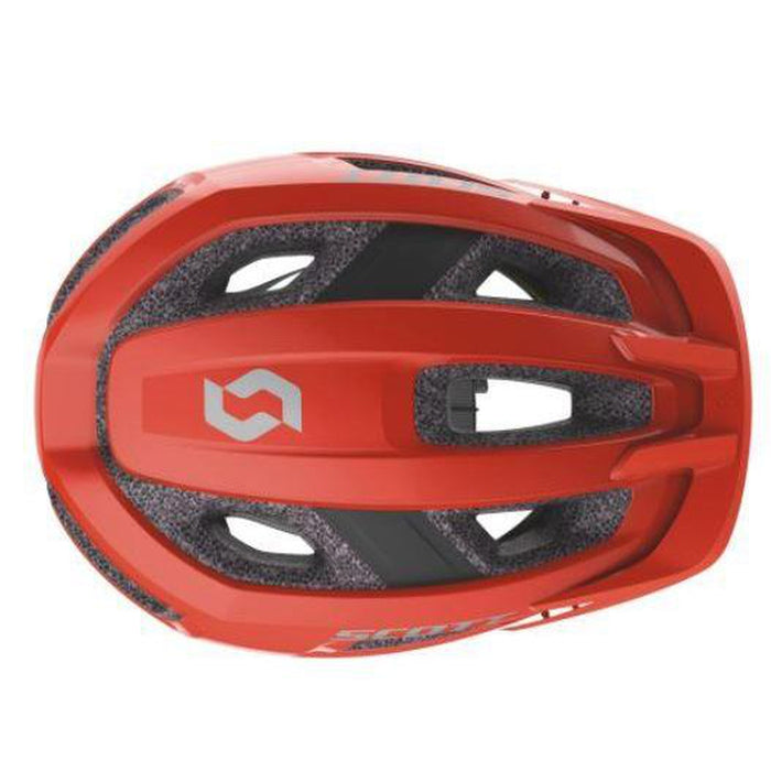 SCOTT Groove Plus CE Helmet Medium/Large - Florida Red | MIPS® Brain Protection System | Polycarbonate Micro Shell