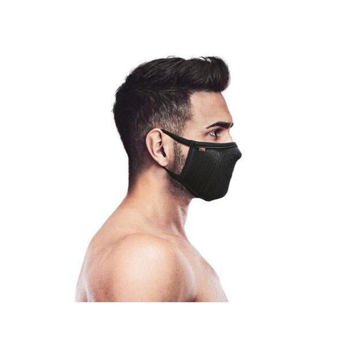 NAROO F.U. Plus Black - Large | 99% UV Protection Mask | MICRONET Filter Fabric
