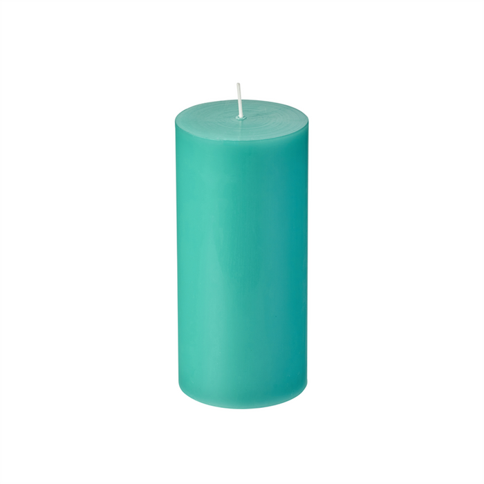 WAX WORKS Citronella Pillar Candle 15Cm | 40 Hours Burn Time | Parrafin Wax