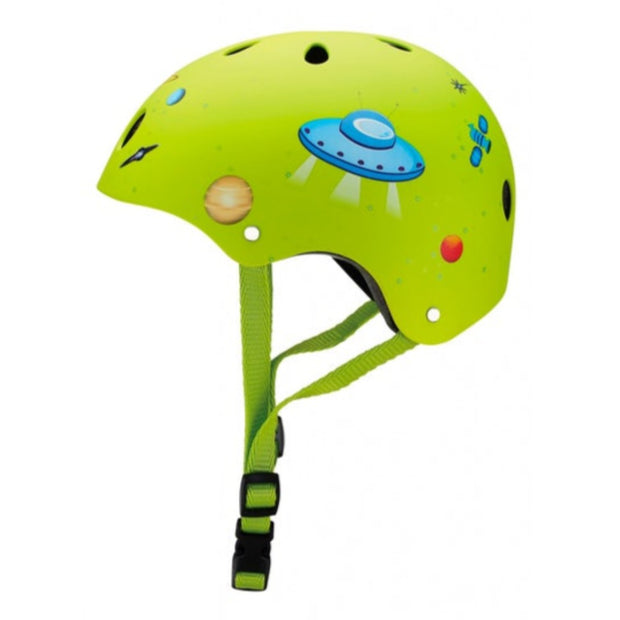 GLOBBER Printed Helmet Jr Rocket