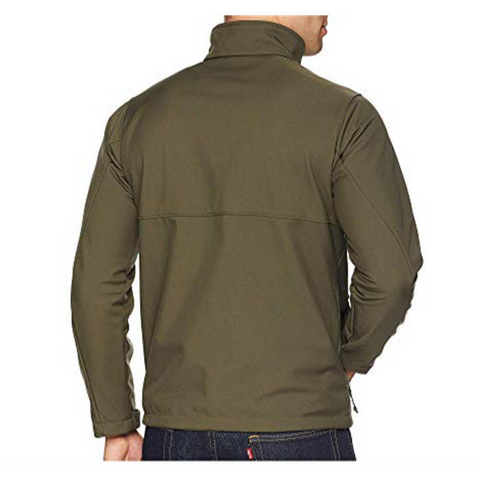 COLUMBIA Men's Ascender Softshell Jacket - Peatmoss | Water/Wind Resistant | 100% Polyester Contour Softshell