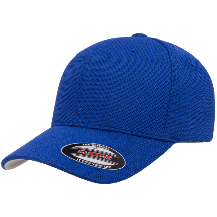 FLEXFIT Cool & Dry Pique Mesh Cap | Mositure-Wicking Technology | 99% Polyester/1% Spandex
