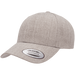 FLEXFIT Yp Classics Premium Curved Visor Snapback Cap | Permacurv Technology | 80% Acrylic/20% Wool