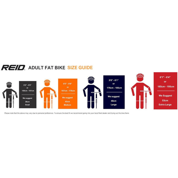 REID CYCLES Hercules Fat Bike