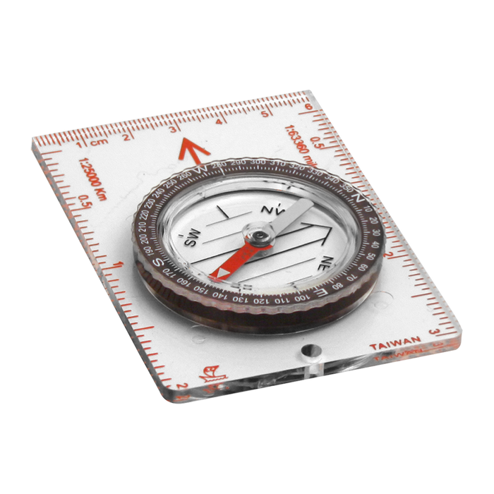COGHLAN Map Compass | Scales In Inches, Millimeter And 1:25,000  | Jeweled Needle And Luminous Pointer