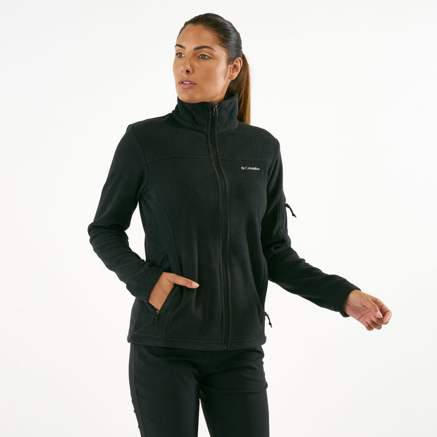 COLUMBIA Women's Fast Trek Ii Jacket - Black