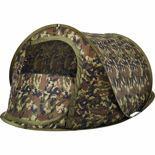 OZTRAIL Eco Switch Back 2 Camo Pop Up Tent - Camouflage Green | 2 Person Capacity | UVTex 2000 Sun Tough Fly Fabric
