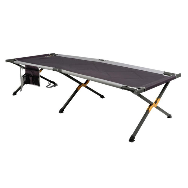 Oztrail Aluminium Stretcher Jumbo Padded Camping, Furnitures
