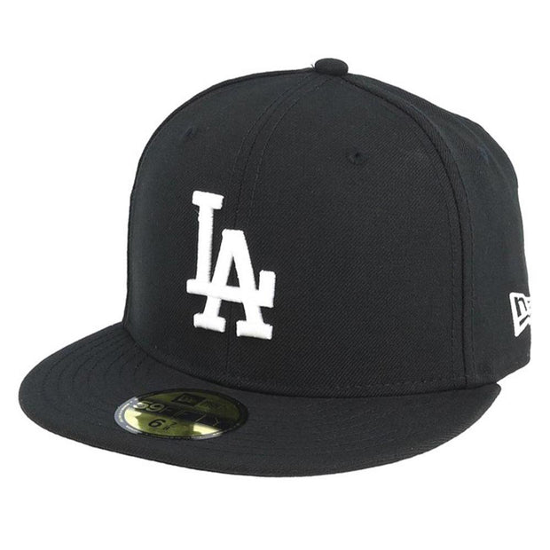 New Era Mlb Basic La Dodgers Cap Black Caps, Lifestyle Accessories