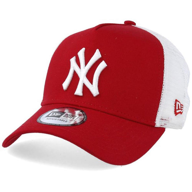 New Era Mlb Clean Trucker Ny Yankee Cap Caps, Lifestyle Accessories