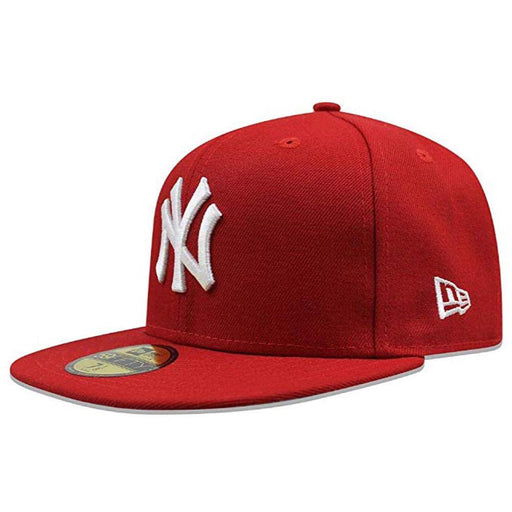 New Era Mlb Basic Ny Yankee Cap Scarlet Caps, Lifestyle Accessories