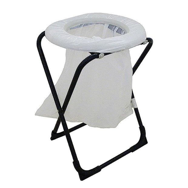 Oztrail Toilet Chair With Bag Camping, Hygiene