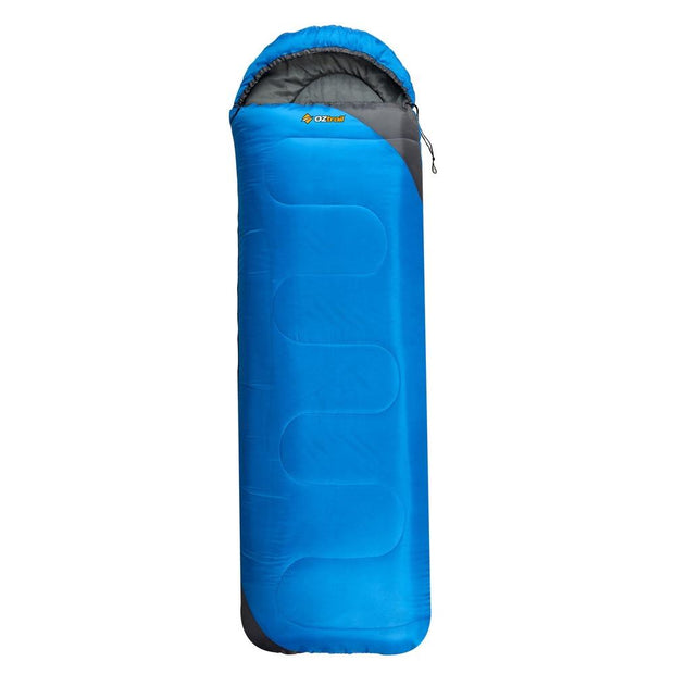 Oztrail Sturt Junior Hooded Camping, Sleeping Bags