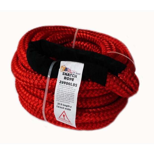 AOR Kinetic Snatch Rope 30% Elasticity 4x4, Recovery, Towing