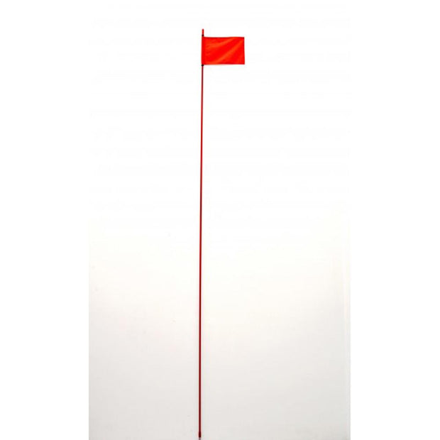 Aor Aor 9 Ft Red Off Road Flag Pole With Red Flag 4x4, Flags, Recovery