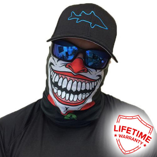 Salt Armour Face Shield Clown Balaclava, Hiking Accessories