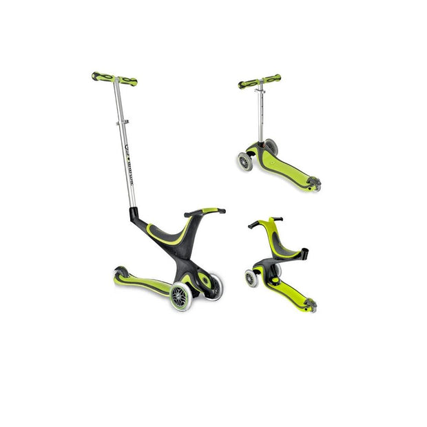 Globber Evo 4 In 1 Scooter Green
