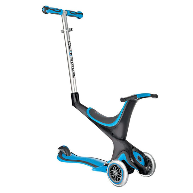 Globber Evo 5 In 1 Scooter Blue