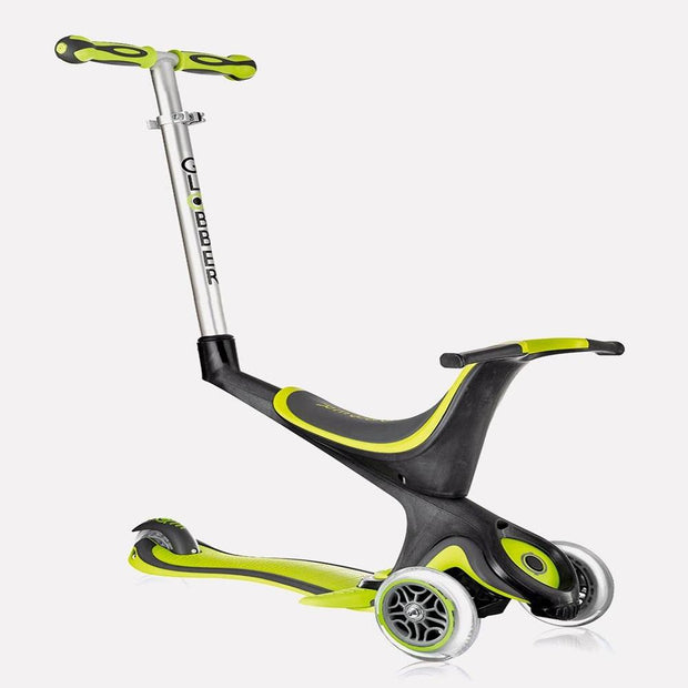 Globber Evo 5 In 1 Scooter Green
