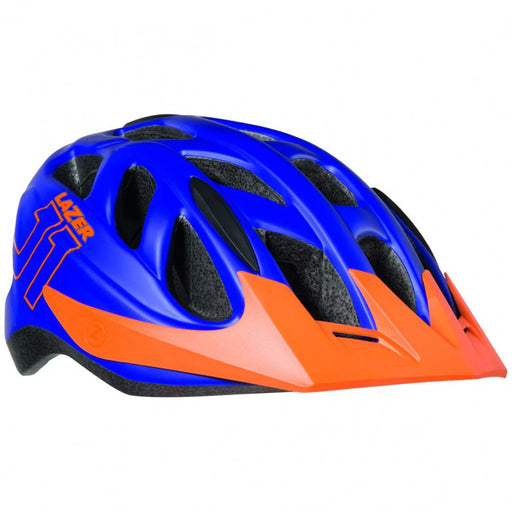 Lazer J1  Matte Blue Orange S Helmet