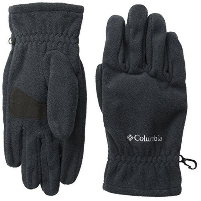 COLUMBIA Kid's Fast Trek Gloves Large - Black | Superior Warmth | 100% Microfleece