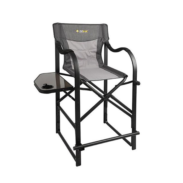Oztrail Directors Vantage Chair With Side Table Camping, Chairs, Furnitures