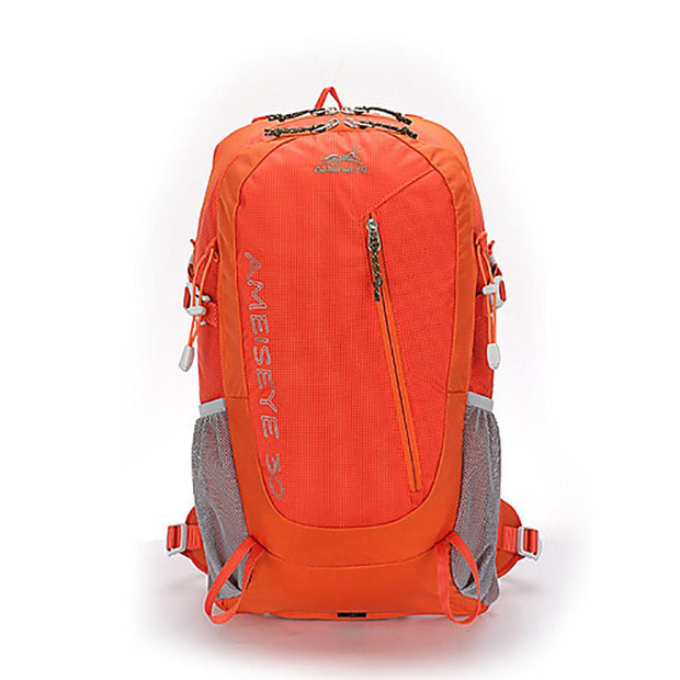 Ameiseye 30L Hiking Backpack Orange Backpack, Equipment, Hiking