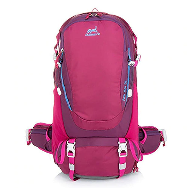 Ameiseye 38L Hiking Backpack Red Backpack, Equipment, Hiking