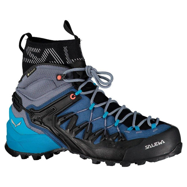 Salewa Ws Wildfire Edge Mid Goretex Poseidon Boots, Hiking Footwear