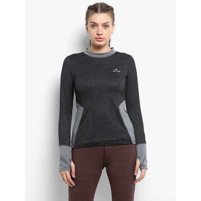 ALCIS Black/Grey Womens Sweat Shirt