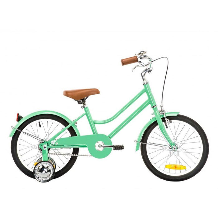 "REID CYCLES Girls Classic 16"" - Mint Green"