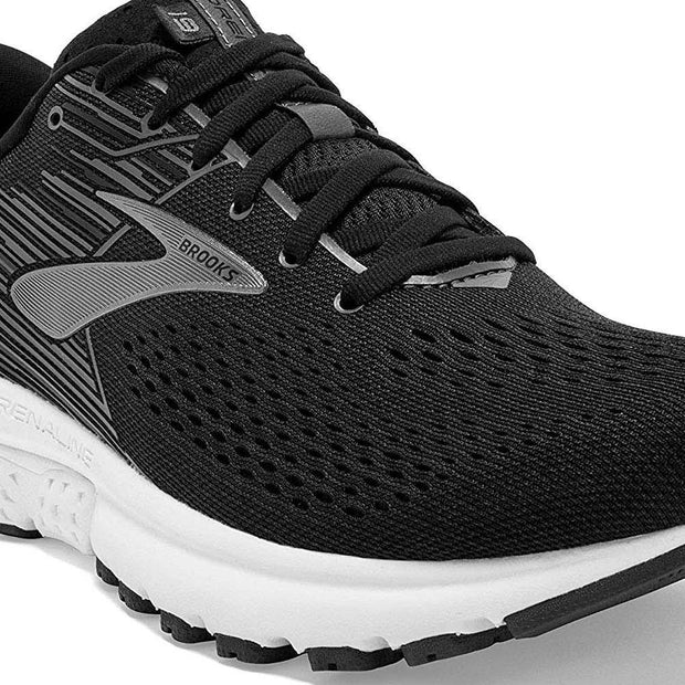 Brooks Adrenaline Gts 19 Black - Silver  Shoes