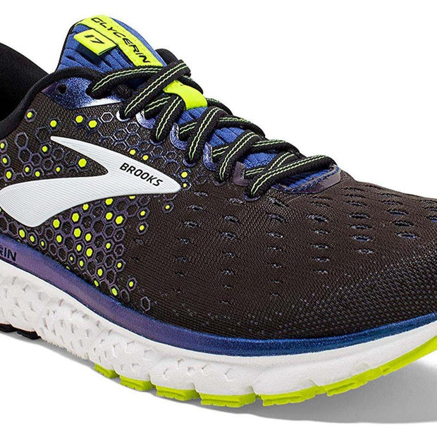 Brooks Glycerin 17 Black/Blue Shoes