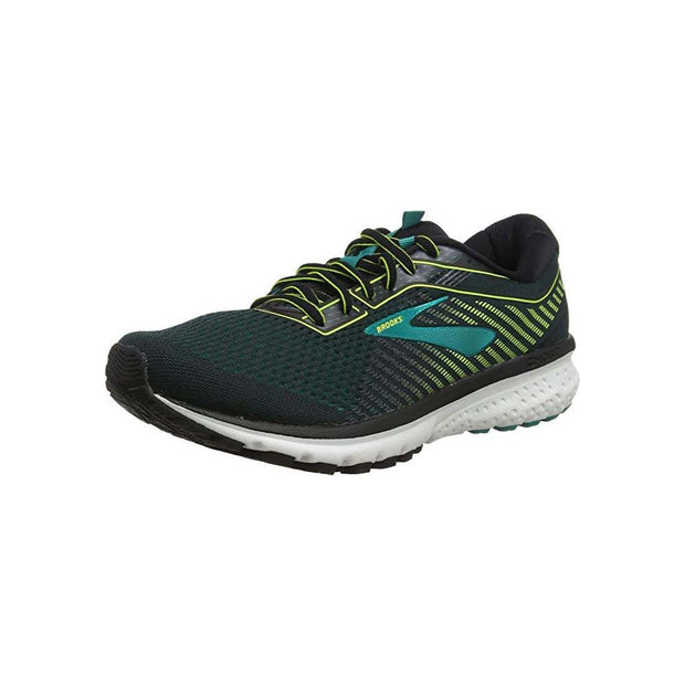 Brooks Ghost 12 Black/Blue Shoes