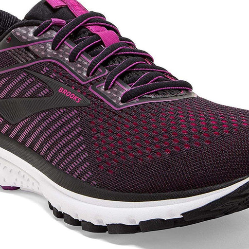 Brooks Ghost 12 Black/Pink Shoes