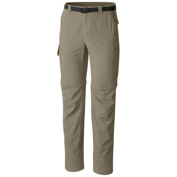 COLUMBIA Men's Silver Ridge Convertible Pant | Omni-Wick | Omni-Shade UPF 50 sun protection | Partial elastic at waist | Zip-closed security pocket