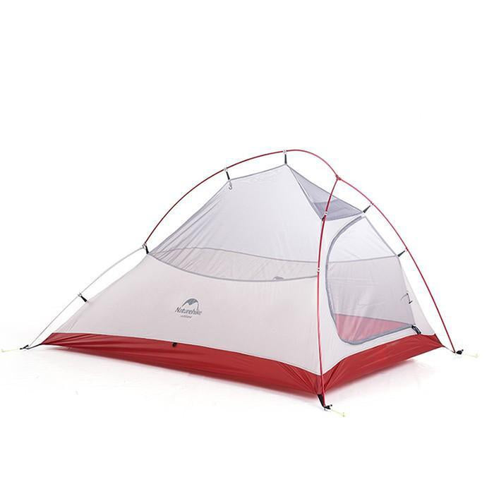 NATUREHIKE Updated Cloud Up 2 Tent-New Version - Grey | Waterproof | Easy to Set Up