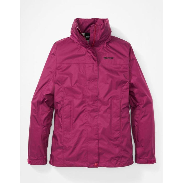 MARMOT Women's Wm'S Precip Eco Jacket | NanoPro™ Waterproof | Heat-Releasing PitZips | 100% Seam Taped | Fixed Hood