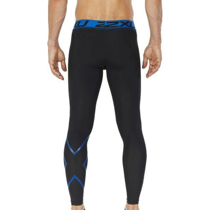 2XU Compression Tight - Reduced Muscle Fatigue and Soreness | Antibacterial + UPF50+ Sun Protection | Nylon and Elastane