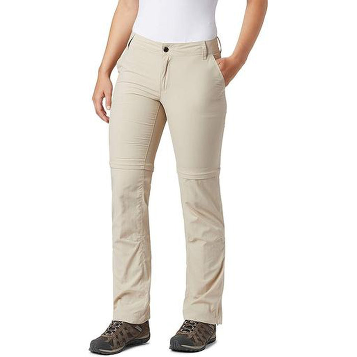 COLUMBIA Women's Silver Ridge 2.0 Convertible Pant - Fossil | Omni-Shade™ Technology | 100% Nylon