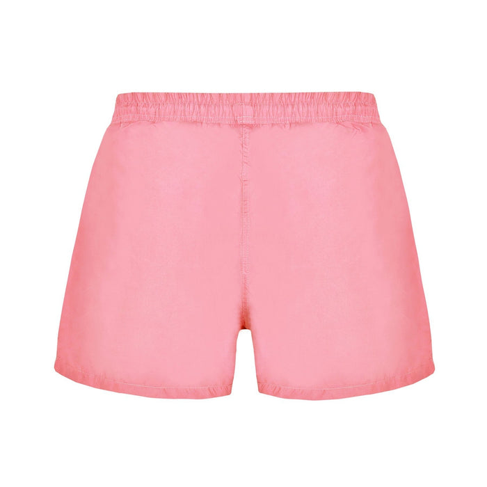 JUST NATURE Men's Pink Swim Shorts | Comfort And Style | 100% Polyester